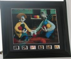 "ANN REID SIGNED 'WENDOLENE'  ""WALLACE AND GROMIT"""